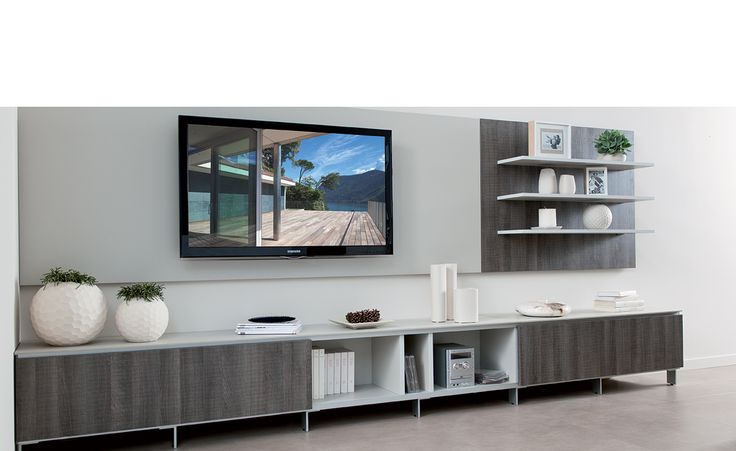 Meuble home cin ma tv atlanta le long meuble bas sous la t l peut tr s - Meuble tele home cinema ...