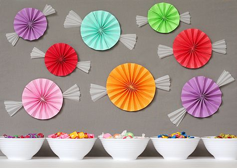 Classroom decor: Candy Theme, Candy Parties, Wall Decor, Birthday Parties, Theme Parties, Parties Ideas, Candyland, Candy Decor, Candy Land