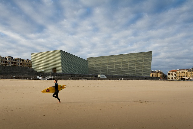 Kursaal-Rafael Moneo  Donostia-San Sebastián, Spain  photo by Pawel Paniczko, via Flickr