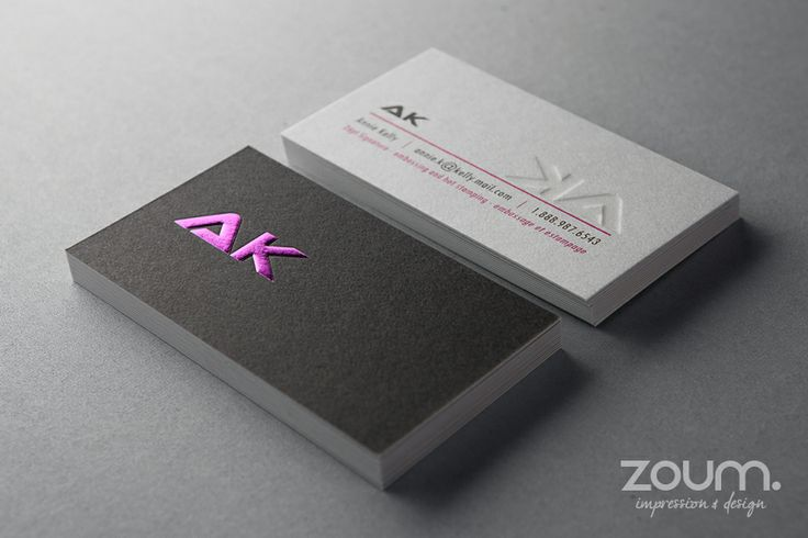 13 best images about zoum cards on pinterest hot pink for Zoum business cards