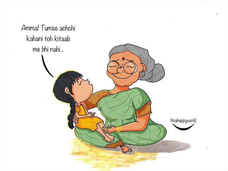 Grandma ❤️ #art #illustration #doodle #grandma