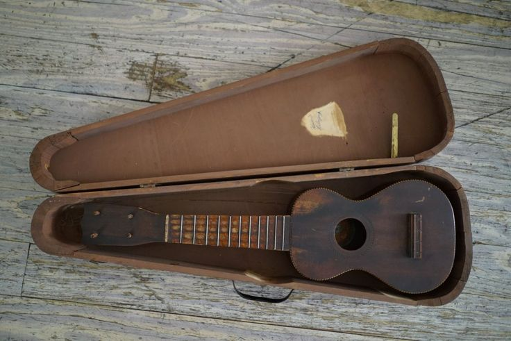 Lyra 1926 Bruno Hawaiian Special Ukulele 1926 Antique Natural Patina!