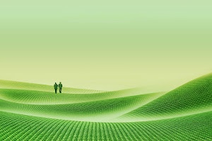 a couple by Ag Adibudojo - green desert                                Click on the image to enlarge.