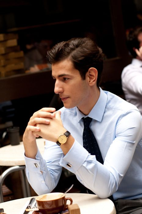 Sophisticated: Men Clothing, Photos Ideas, Shorts Hair, Cufflinks, Street Style, Men Style, Men Fashion, Men Outfits, Business Looks