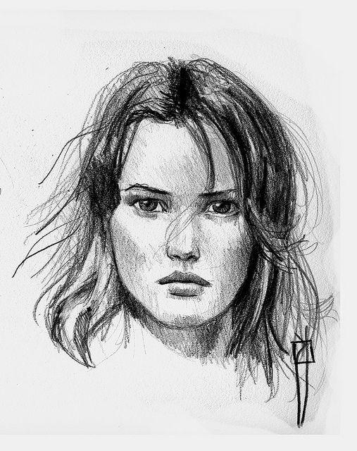 face sketch | Flickr - Photo Sharing!