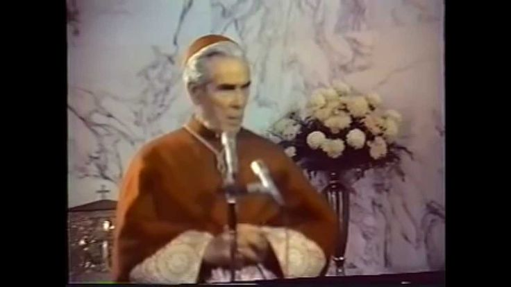The Devil ~Venerable Fulton Sheen  Family Retreat (5 of 12)