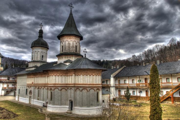 Monastery in Suceava, Romania