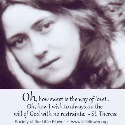 saint therese of lisieux the little flower