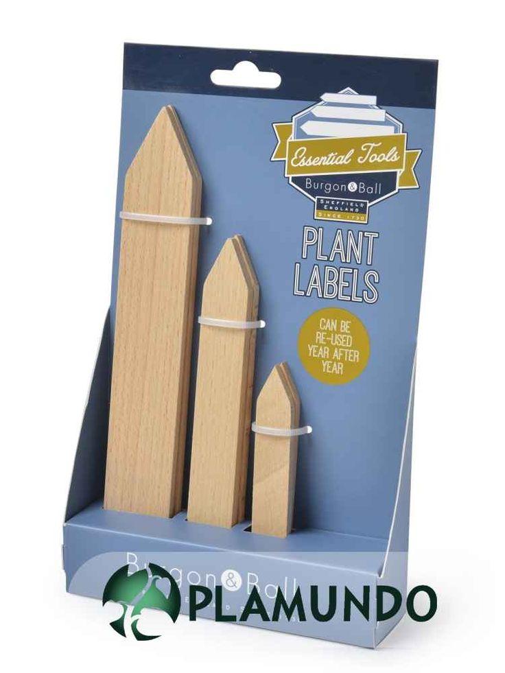 Pflanzenetiketten von Burgon & Ball, 6 Stück | Plamundo Garten Shop