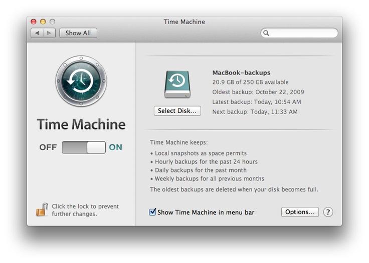 Mac Basics: Time Machine