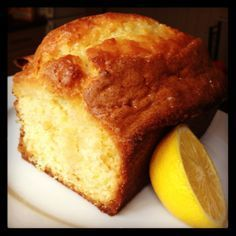 The only Lemon Drizzle Cake recipe you'll ever need! It is epic!