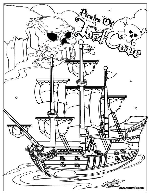 96 Best Pirate Ship Coloring Pages 50 About Remodel
