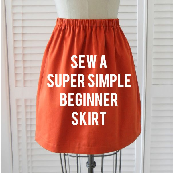 This sew a beginner skirt tutorial at Shrimp Salad Circus is a must do sewing project. I am loving the color, and the simplicity. If you are a beginner like me, this is right up your alley.