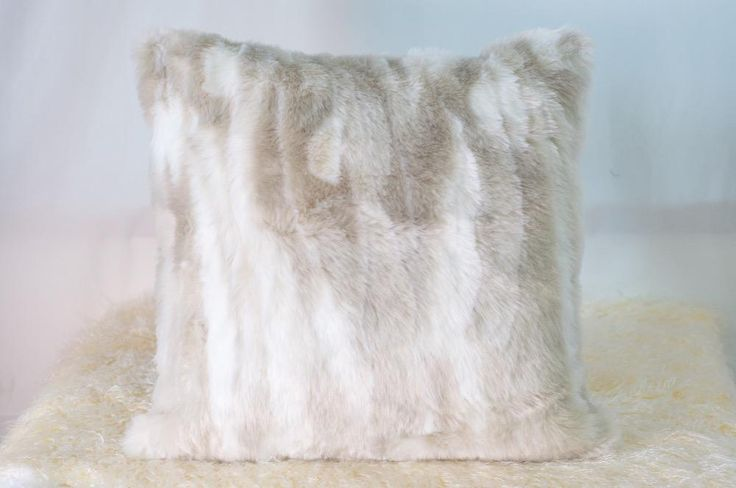 Diana Faux Fur Cushion - Pin for Inspo!