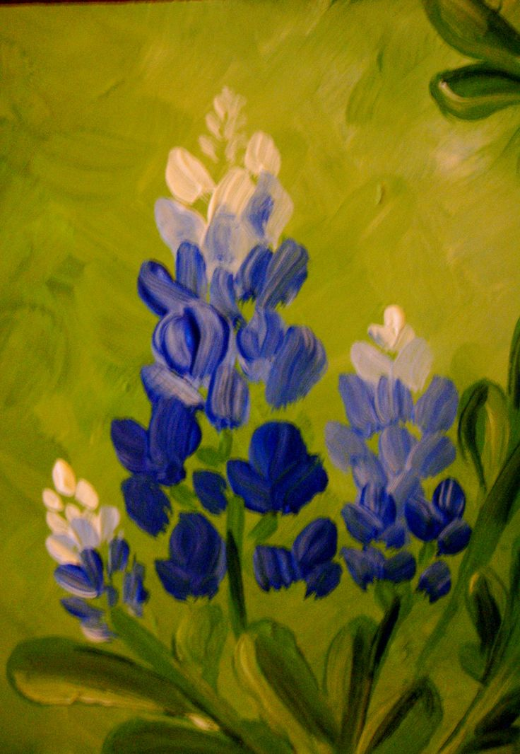 bluebonnets painting - Google Search | Bluebonnets ...