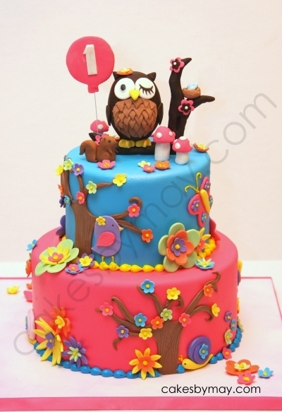 Owl 1st Birthday