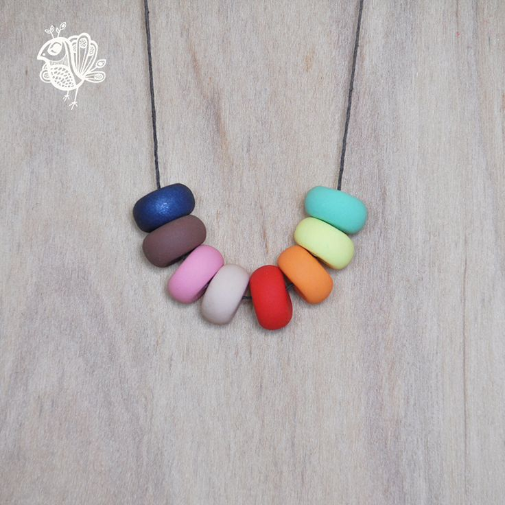 Handmade Coin Clay Necklace - Monkey