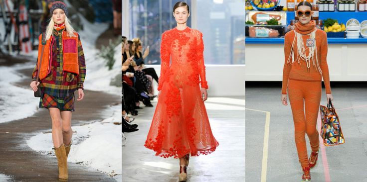 The Colors of FW14 – 10 Ways to Kick Out Black, Grey and Beige #orange #thedailydagny