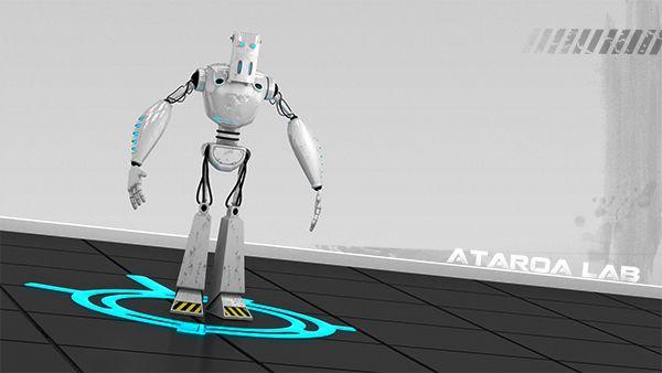 Warbot Project by Franck Barlet ( Ataroa ), via Behance #robot