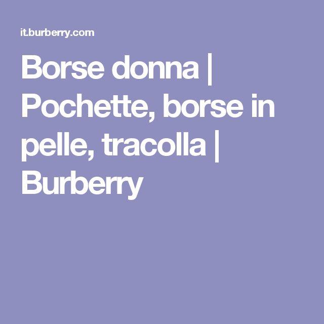 Borse donna | Pochette, borse in pelle, tracolla | Burberry