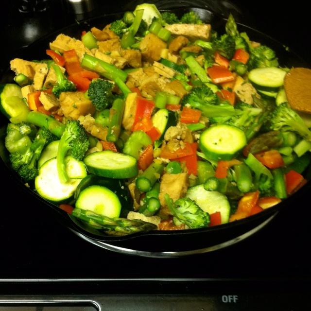 idées sur le thème Tofu Fri Sauté sur Pinterest   Tofu, Stir Fry ...