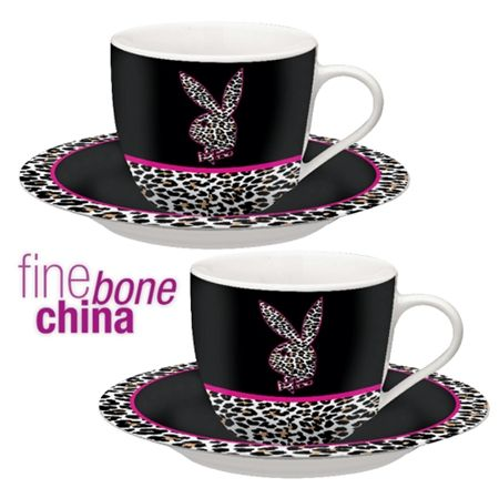 Playboy Set of 2 Cup   Saucer. 119 best Playboy Bunny Items images on Pinterest