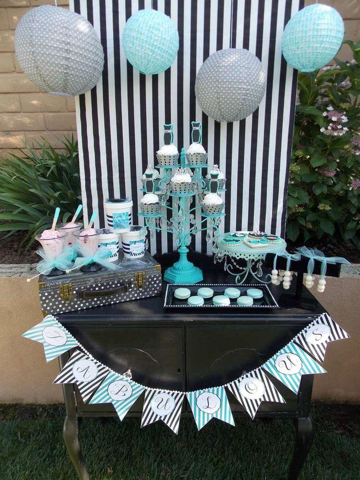 Tiffany inspiration Summer Party Ideas Photo 2 of 24