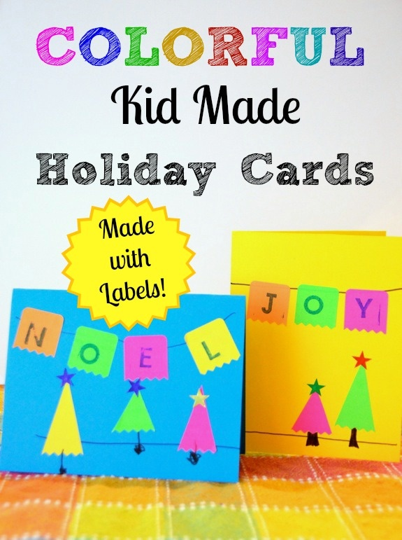 Colourful handmade cards