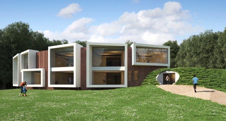 Dorpsschool Rozendaal. Brede school. Ontwerp GAJ VBW Architecten.