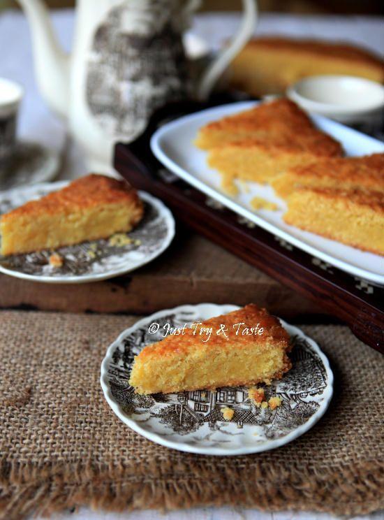 Boterkoek, butter cake a la Belanda.