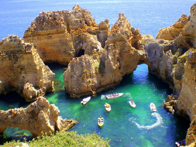 When I was in the majestic Algarve region of Portugal, backpacking with my friend Nicole, we went to a place called Lagos. I sent my parents an email filling them in, and my Mom responded with a frantic email concerned about me taking off to Nigeria. Lagos, Portugal is not Lagos, Nigeria.