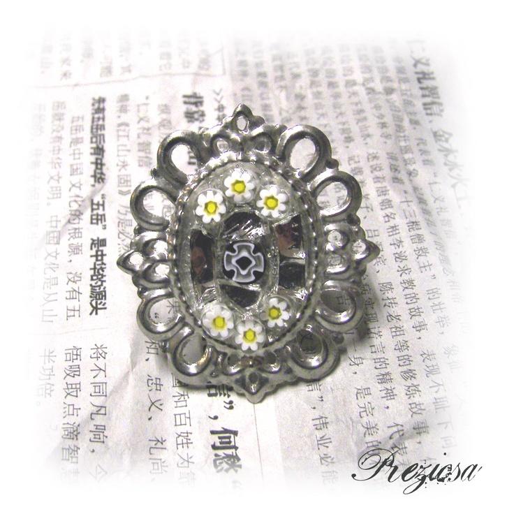 Vintage Mosaic Ring
