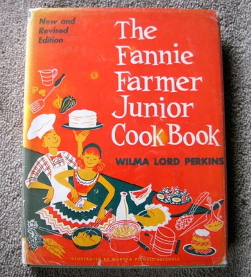 Beautiful photography of fannie farmer cookbook at work here