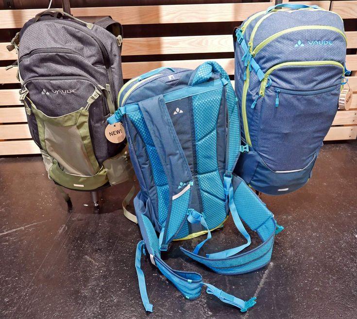 EB17: Vaude packs up for adventure with bikepacking bags, panniers & enduro packs - Bikerumor