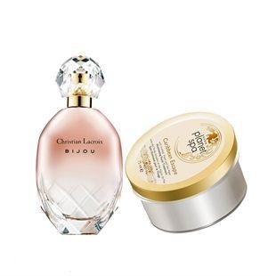 Luxus parfüm és éjszakai gélkrém szett