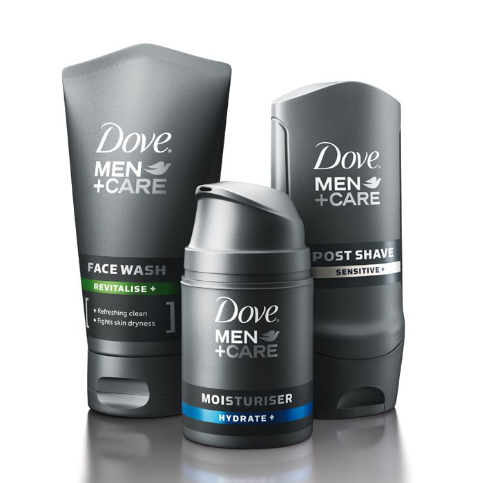 Unilever shake up men's face care market with their new Dove Men+Care range