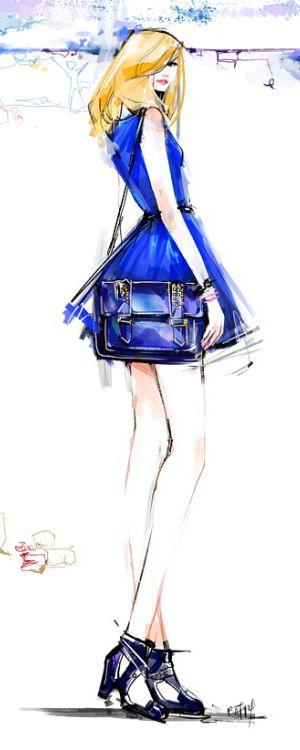 팻 치앙마이, 패션 일러스트레이션, 포장, 트윈, 십대 일러스트 레이터 | 예술 담당자 NYC