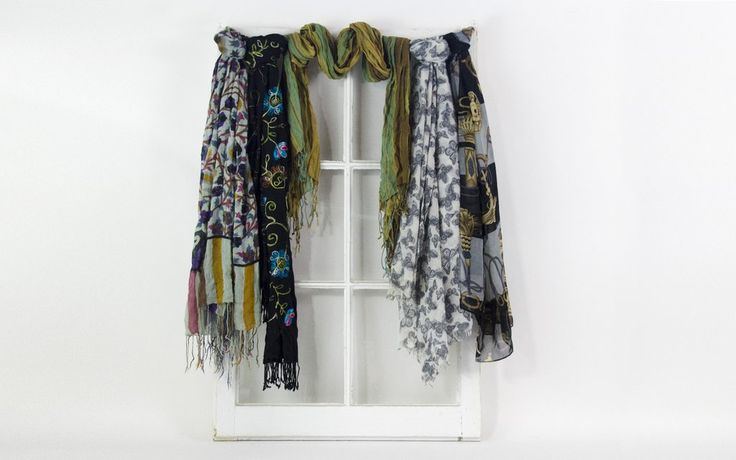 decorate with scarves this fall!