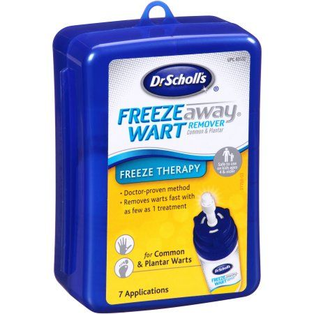 Dr. Scholl's Freeze Away Common & Plantar Wart Remover, Multicolor