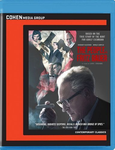 The People vs. Fritz Bauer [Blu-ray] [2015]