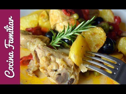 Pollo a la jardinera, receta casera