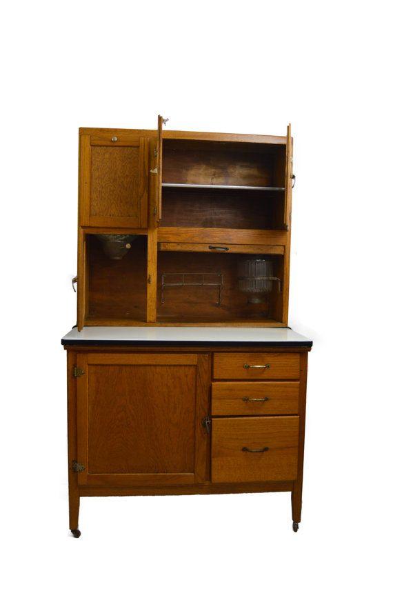 Hoosier Cabinet Nappanee Kitchenette Antique Hoosier