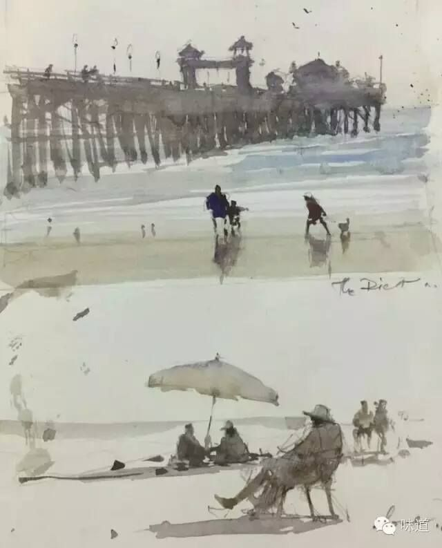 Joseph Zbukvic sketchbook, California