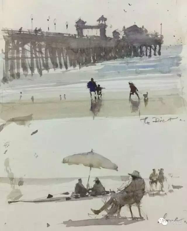 Joseph Zbukvic sketchbook, California