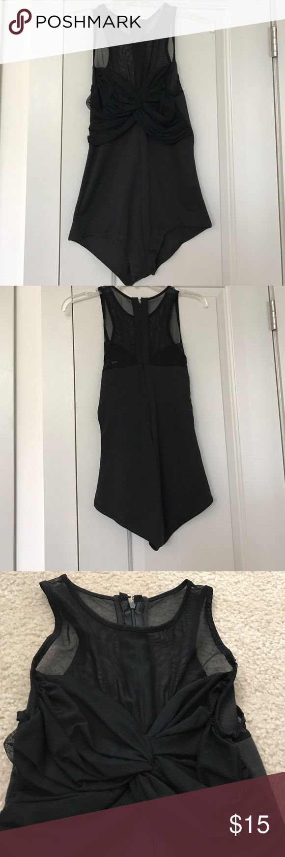 Mesh topped leotard 1 piece body suit with mesh top ASOS Other