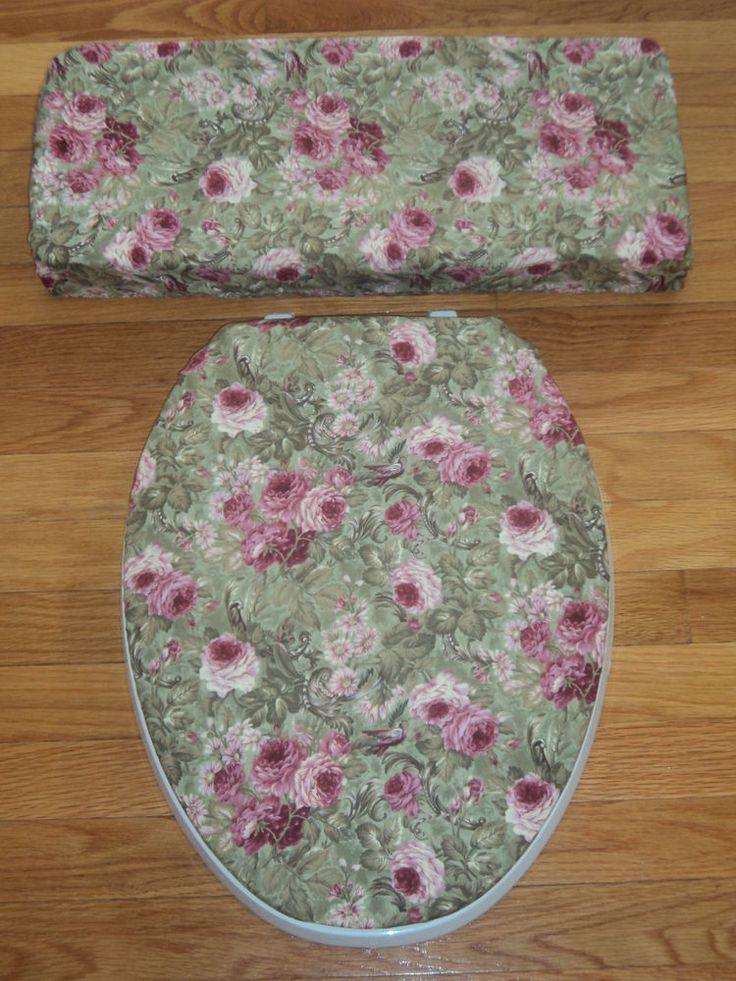 dark green toilet seat. Victorian Burgandy Roses on Dark Green  Toilet Seat Tank Lid Cover Set Best 25 toilet seats ideas Pinterest Red