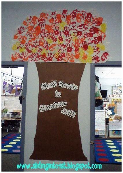 First Grade is Wonder-fall!
