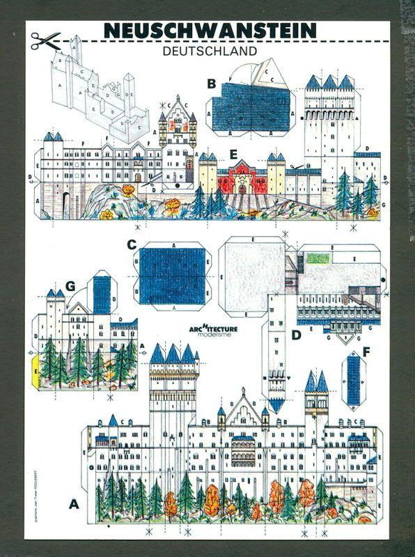 cut out castle template - 41 best castle paper models images on pinterest