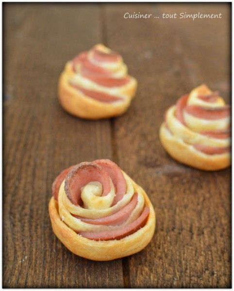 Petites Fleurs pour l'Apéro - Cuisiner... tout Simplement, Le Blog de cuisine de Nathalie