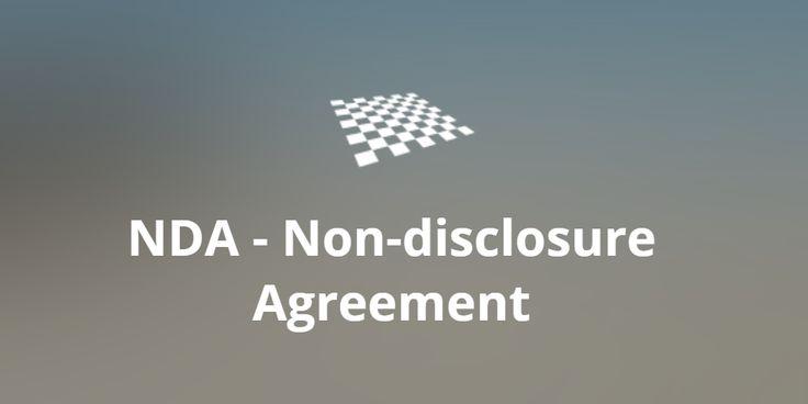 NDA – Non-disclosure Agreement (+template)  http://divendor.com/blog/nda-non-disclosure-agreement/
